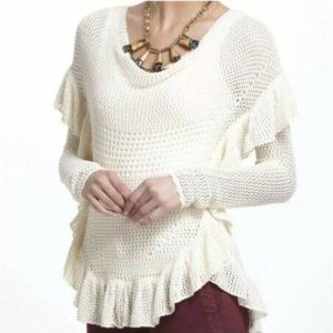 ANGEL of the NORTH Anthropologie Open Knit Sweater